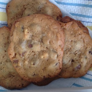 Chocolate Chip Cookies with Honey