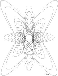S.Mac's Geometric Coloring Page, Cosmos