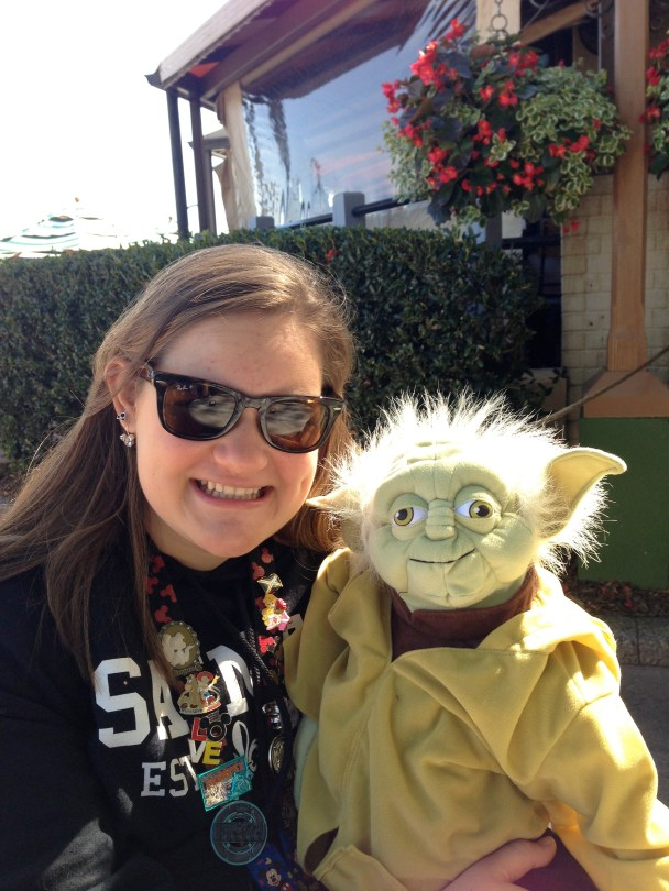 Who doesn't just love yoda!