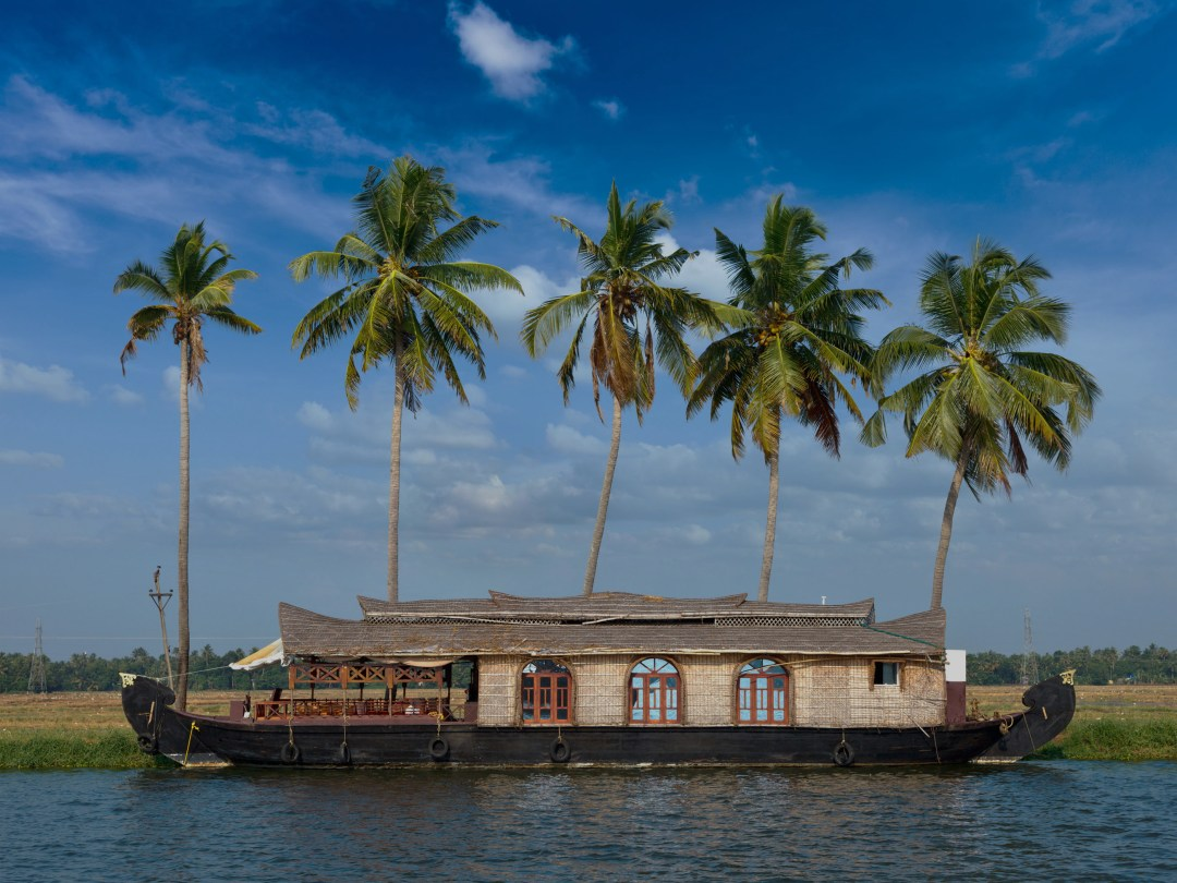 Houseboat-Kerala-Backwaters-India