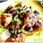 Sweet & Spicy Grilled Chicken