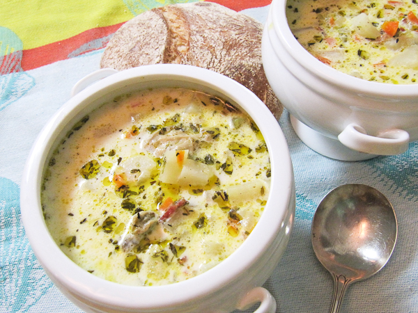 Soup Kitchen Volunteer Orange County New England Clam Chowder from the Soup Kitchen | She's ...