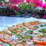 Z Cafe, South Coast Plaza, margherita pizza