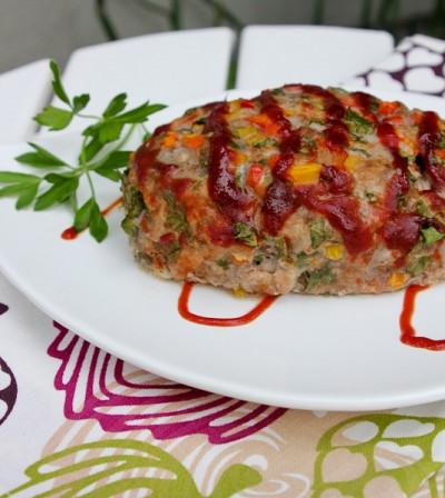 Kickin' Konfetti Meatloaf, veggie meatloaf