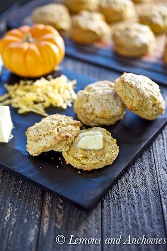 Pumpkin scones, Pumpkin cheddar scones