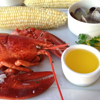 Bluewater Grill's New England Lobster and Clambake