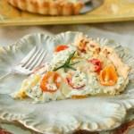 Herbed Heirloom Tomato Tart-7414