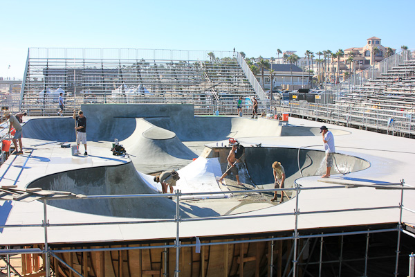 Cement Bowl at the Vans US Open 2013