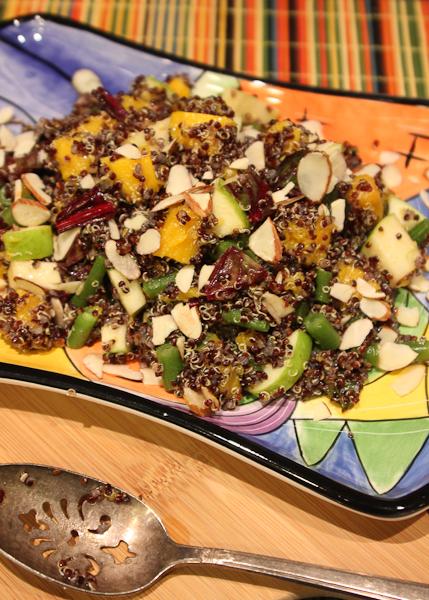 Autumn Apple, Quinoa and Butternut Squash Salad