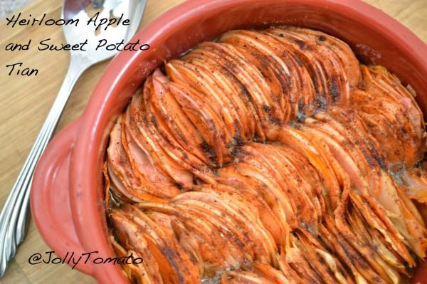 Sweet-potato apple tian, Thanksgiving