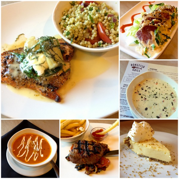 Bonefish Grill Collage