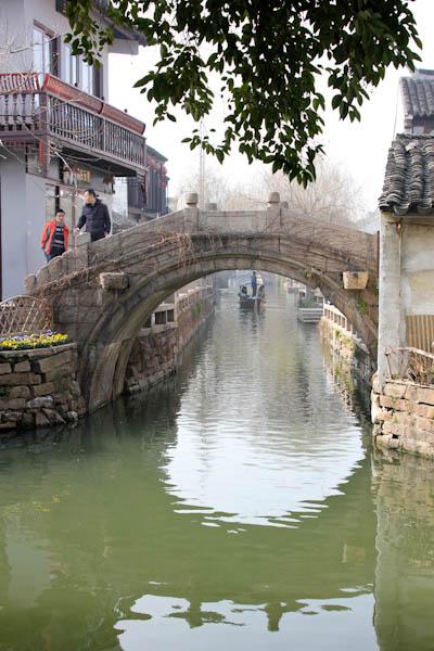 Zhouzhuang Village, Shanghai, ancient Chinese fishing village