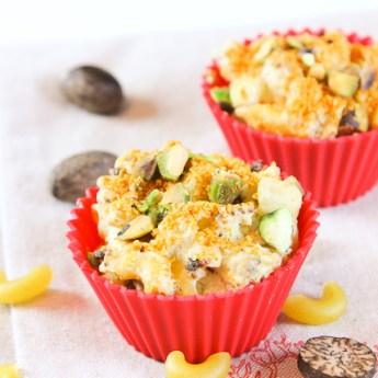 Cauliflower Mac & Cheese Muffins {Low Carb, Gluten Free}