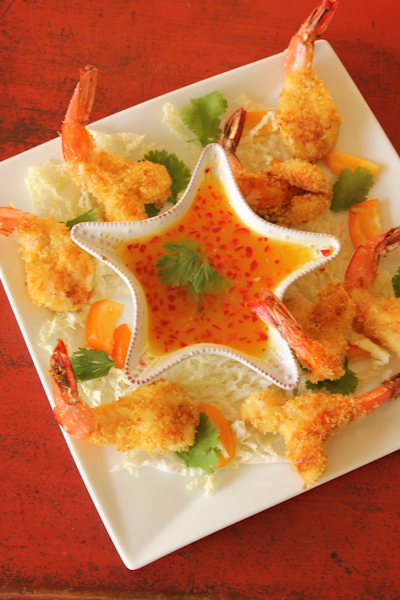 Baked Coconut Shrimp with Orange Serrano Chile Dipping ...