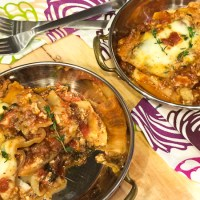 Light + Easy Bison Lasagna #SlowCookerMeals