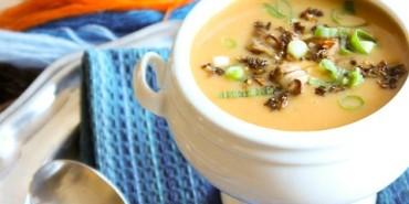Potato, Carrot and Lentil Soup {Vegan, GF}