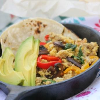 Sunday Scramble and Breakfast Tacos