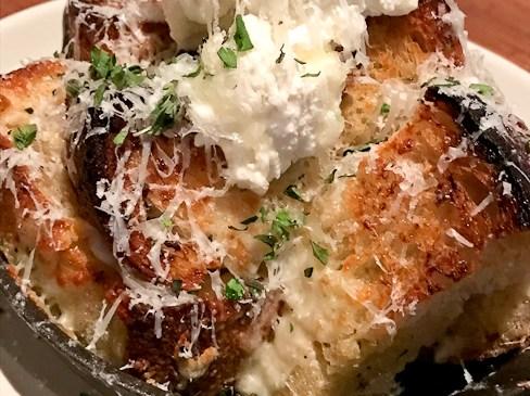 White Truffle Garlic Bread | North Italia, Irvine