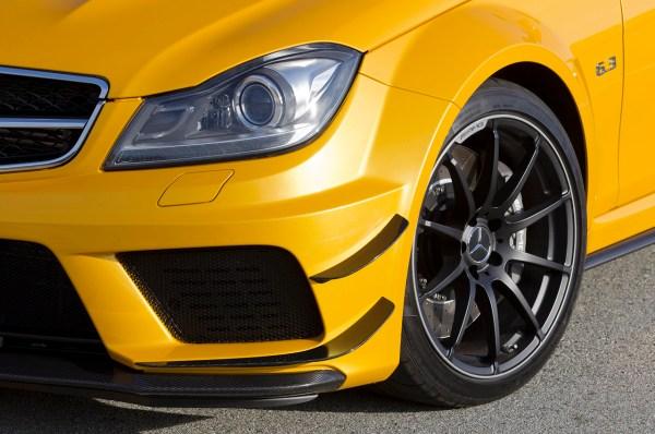 Mercedes-Benz Fahrvorstellung des neuen C63AMG Black Series in S