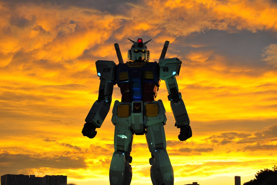 Many people viewed my pictures of Gundam and the wedding. Thank you.