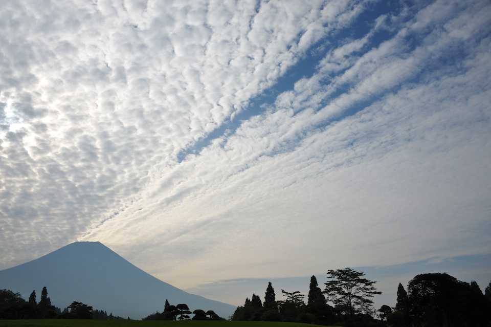 Mt Fuji clouds