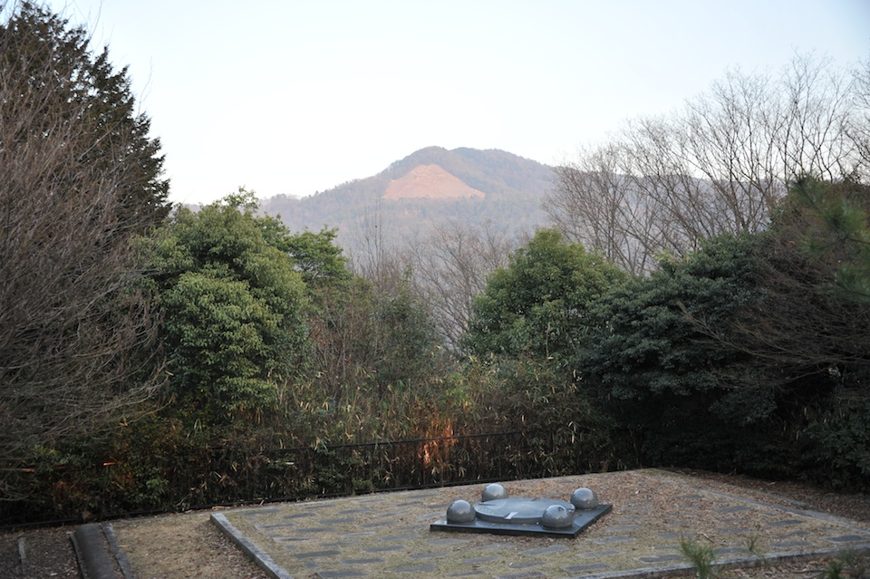 The view towards Daimonji