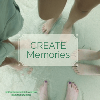 CREATE Memories: Five Minute Friday