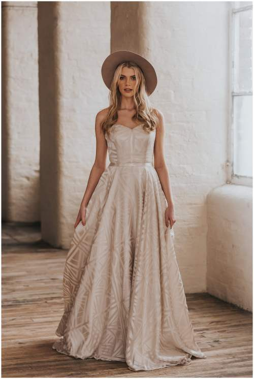 Medium Of Bohemian Wedding Dress