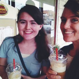 Coffee with lydia :)