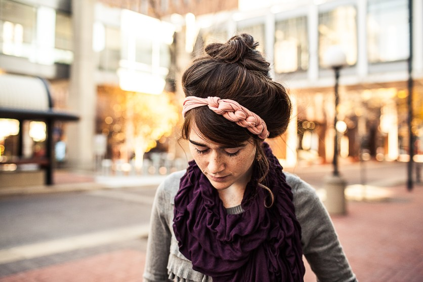 Had fun taking a few product photos in downtown Des Moines!