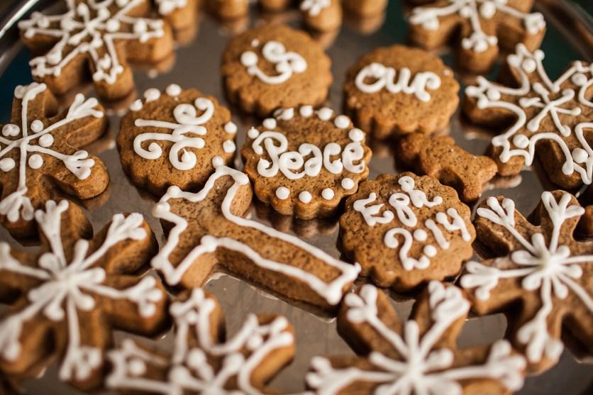 Micah's Gingerbread Cookies! :)