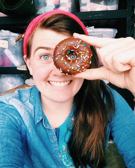 Grace-Donut Worry, Be Happy! ;)