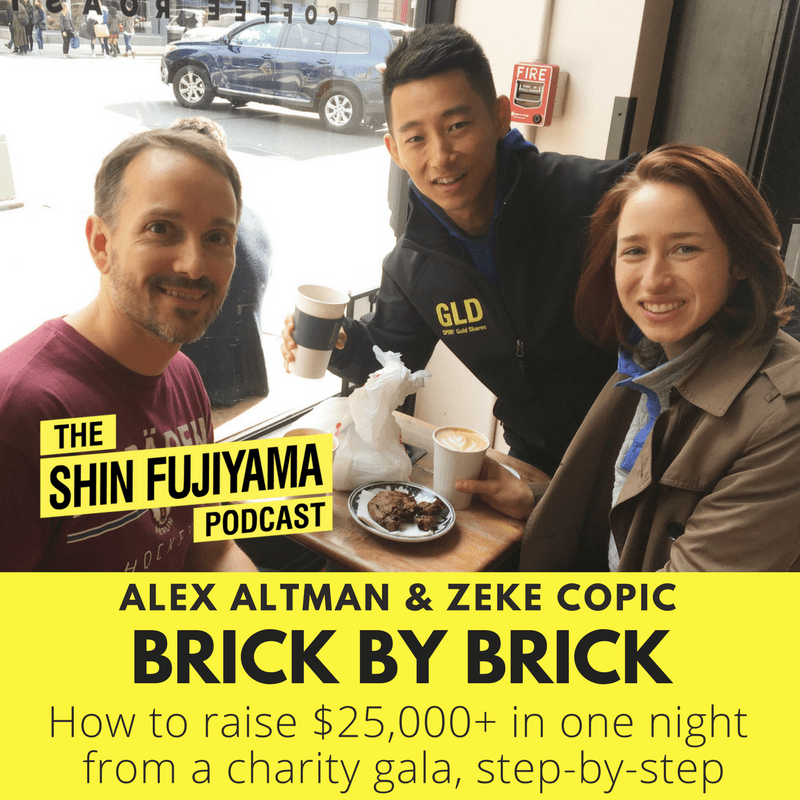 #54 Alex Altman & Zeke Copic Brick By Brick_ Students Helping Honduras _ Shin Fujiyama Podcast