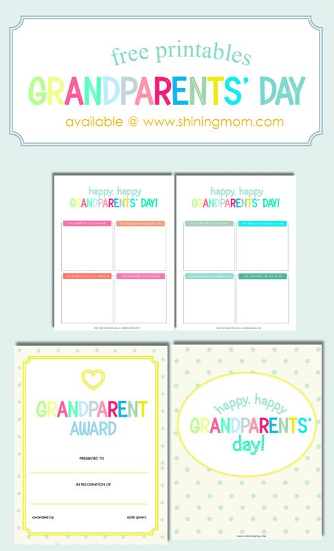 fun and sweet grandparents u2019 day free printables