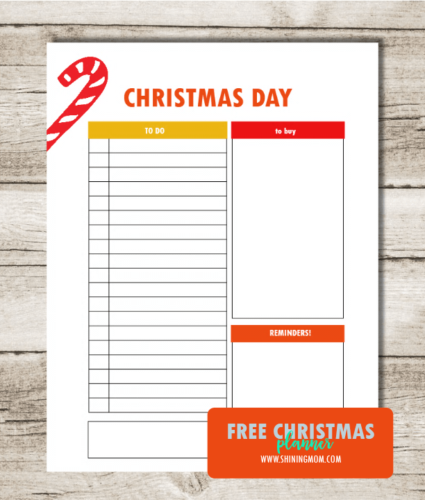 Free Printable Christmas Planner: More Joy, Less Stress!