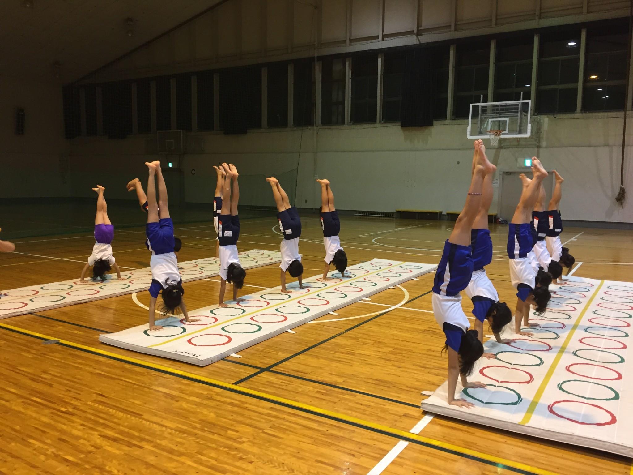 器械体操(金)(小学3年生以上)