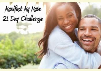 Start Manifest My Mate 21 Day Challenge