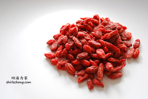 Gou Qi Zi (Goji Berries) - taken by my Nikon D60