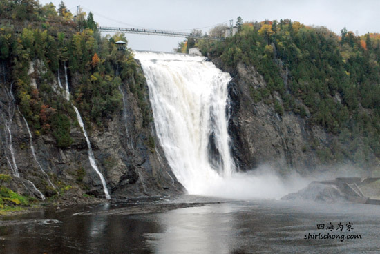 魁北克水晶瀑布 Montmorency Falls, Quebec