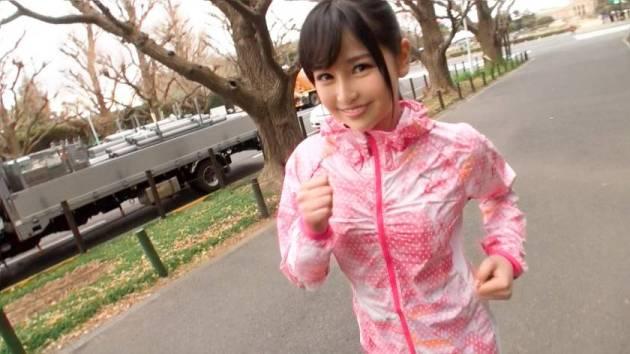 【動画あり】りさ 19歳 グラビアアイドル ジョギングナンパ 06 ナンパTV 200GANA-1286 シロウトTV (1)
