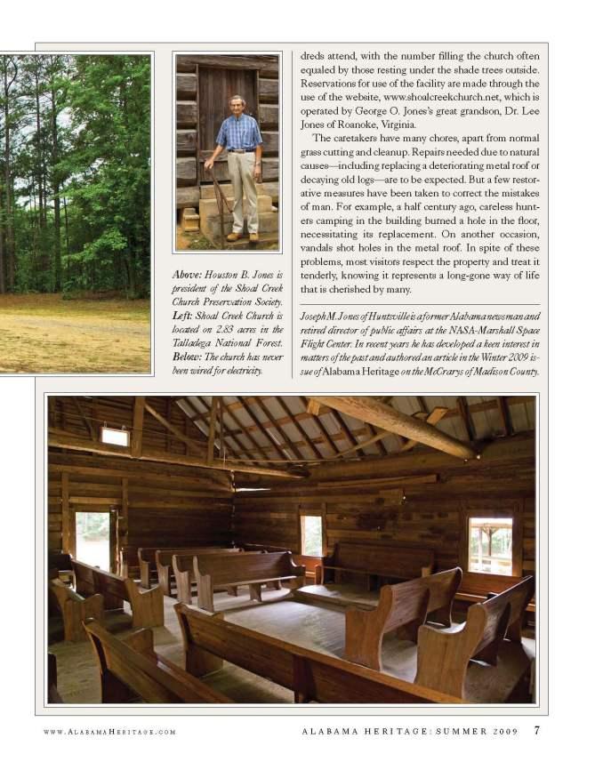 Alabama Heritage Magazine article page 3
