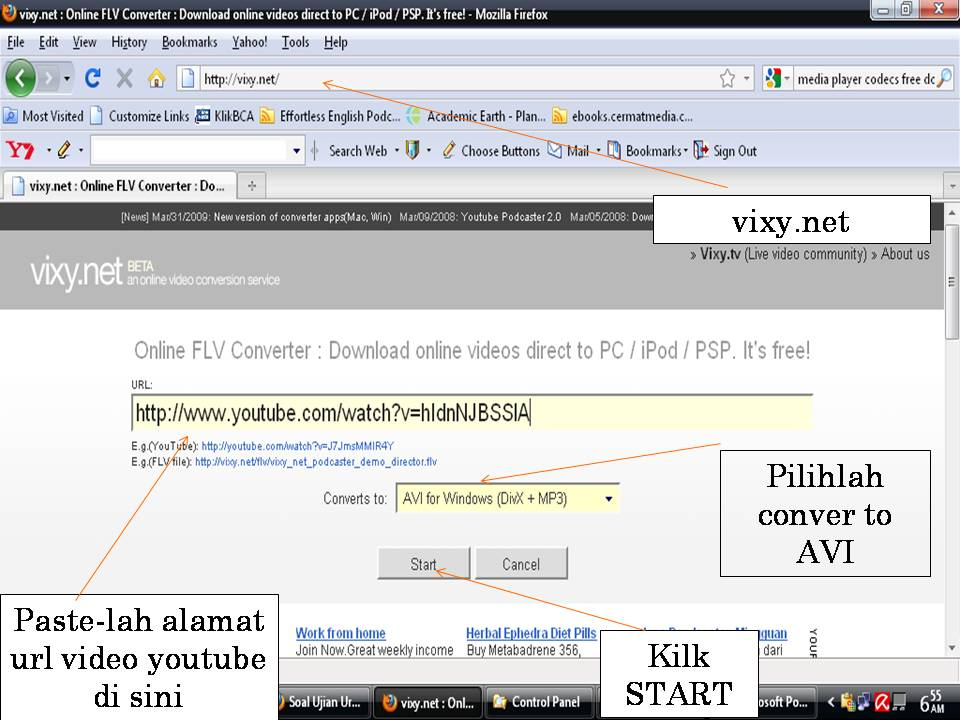Menampilkan Video Youtube di PowerPoint (3/3)