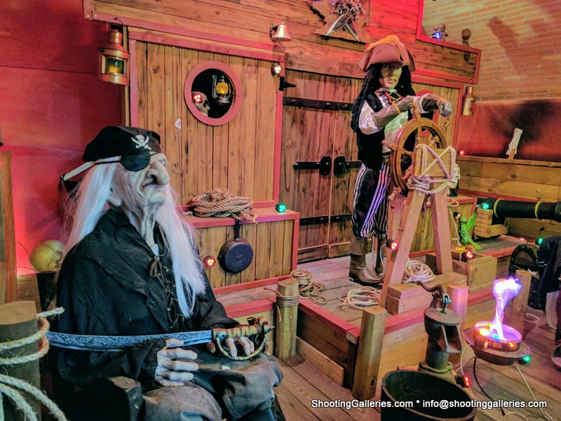 Pirate shooting Gallery @ Fort Conde