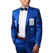 TARDIS themed formal suit