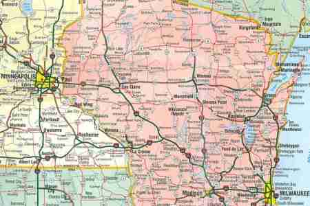 themapstore | north central united states road map