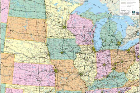 themapstore | north central states, north central, midwest