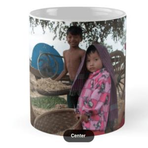 Tassa de ceràmica - Family in Myanmar