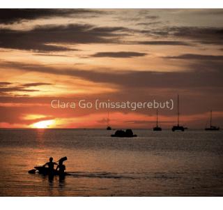 Kayaking to the Sunset in Koh Lipe-print