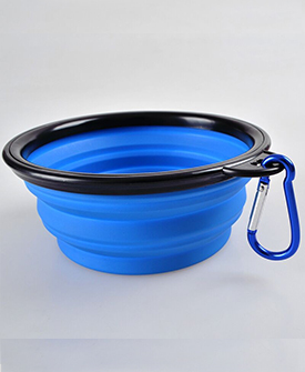 Dog Silicone Bowl