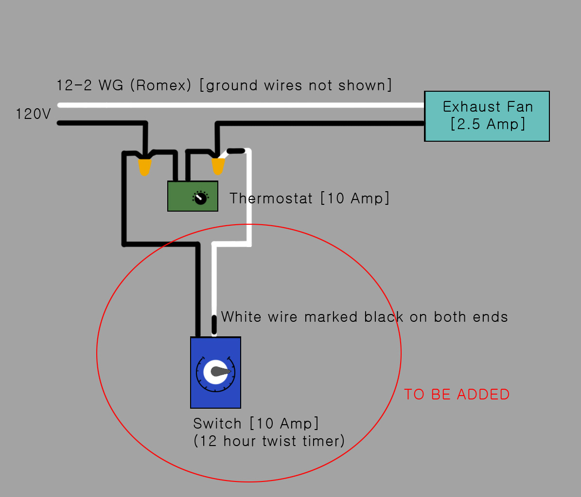 120v Attic Fan Thermostat Wiring Diagram Third Level A Whole House 2 Speed